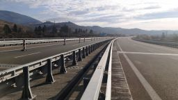 """Отвориха месец предсрочно ремонтирания мост над река Джерман по АМ """"Струма"""""""