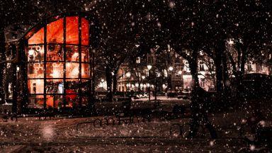 София след първия сняг (снимки)