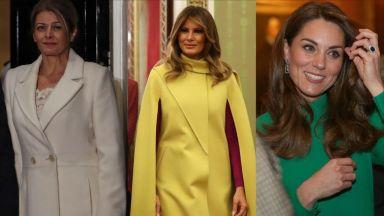 Стилът на Десислава Радева, Мелания Тръмп и Кейт Мидълтън на срещата на върха на НАТО