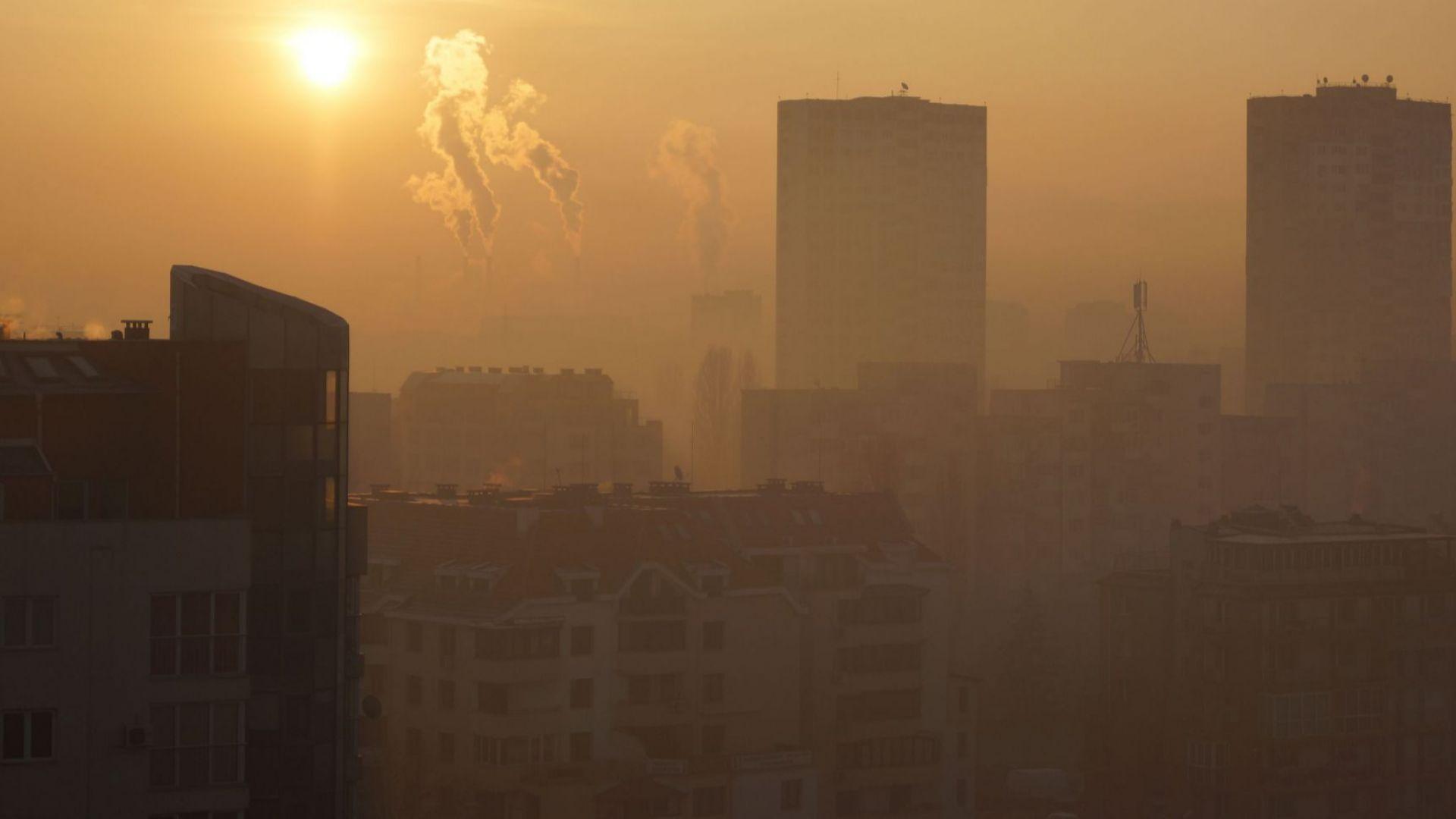 """""""Галъп"""": 70%  от софиянци смятат, че въздухът е мръсен"""