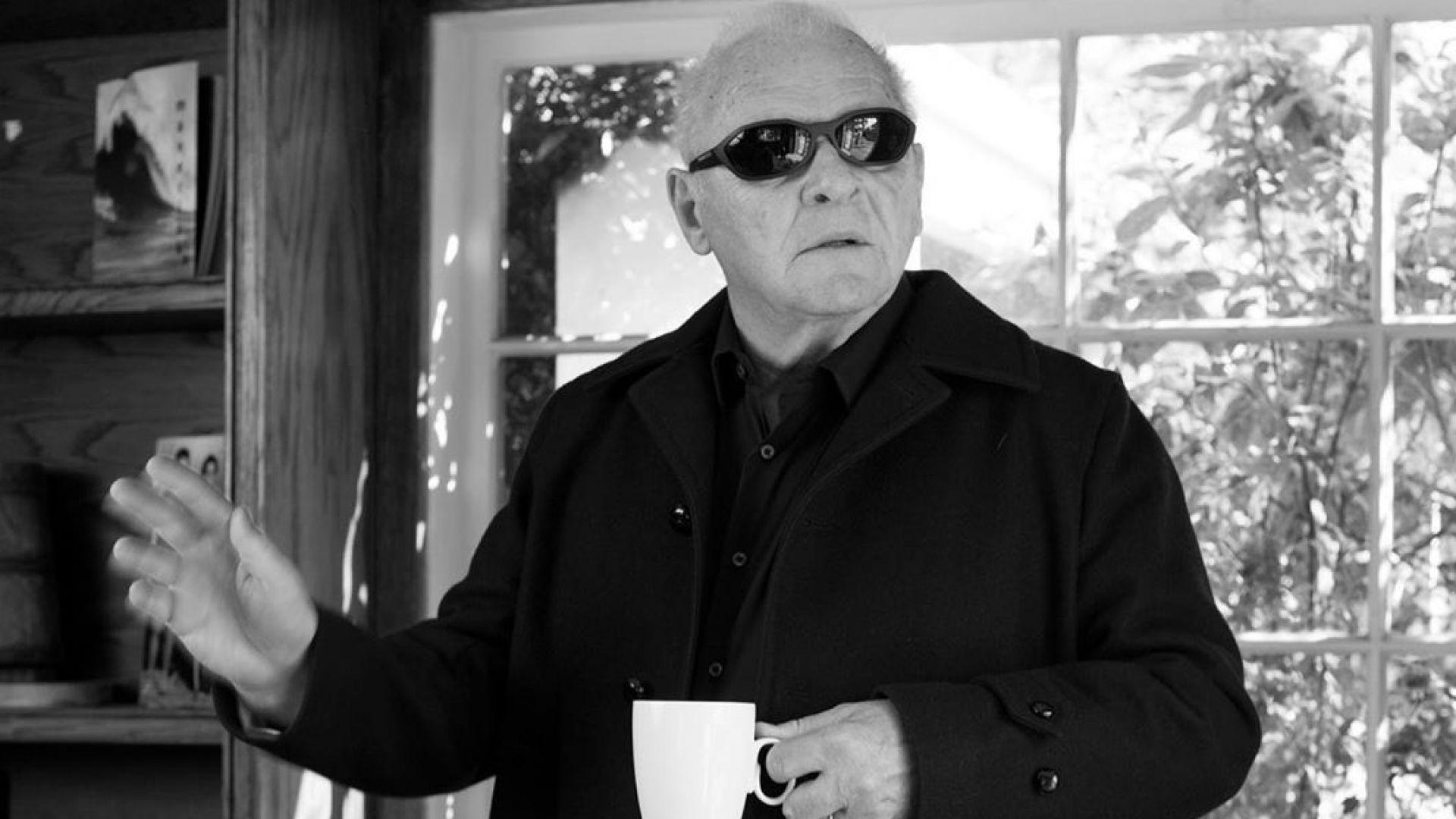 Антъни Хопкинс в коледно настроение, дни преди премиерата на новия му филм