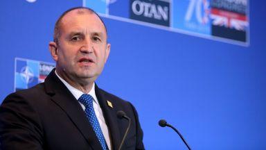 Радев: НАТО няма бъдеще като съюз между производители и купувачи на оръжие