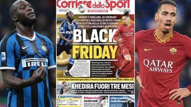 Италиански вестник създаде расистки скандал със заглавие преди Интер - Рома