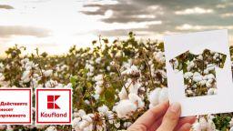 Kaufland гарантира устойчивото производство на собствените си текстилни марки чрез Глобалния стандарт за органичен текстил