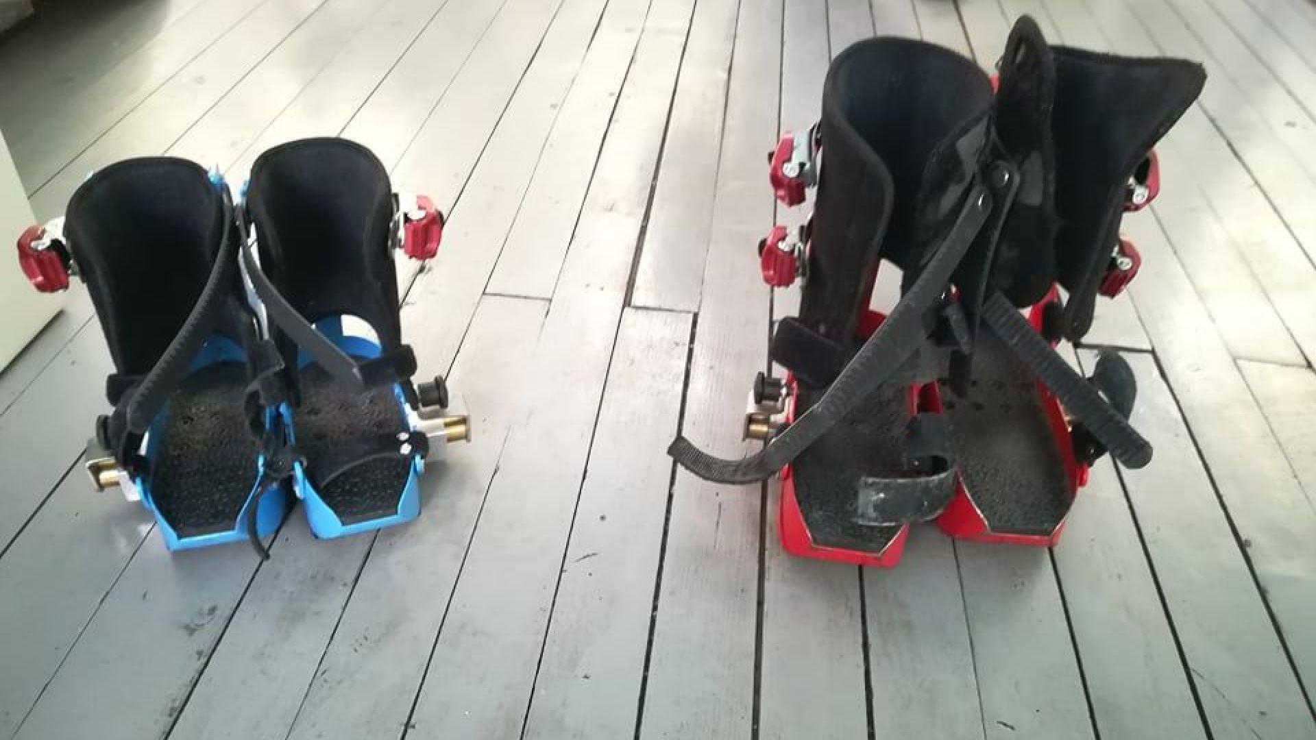 Има специални обувки, когато децата ползват робот за рехабилитация