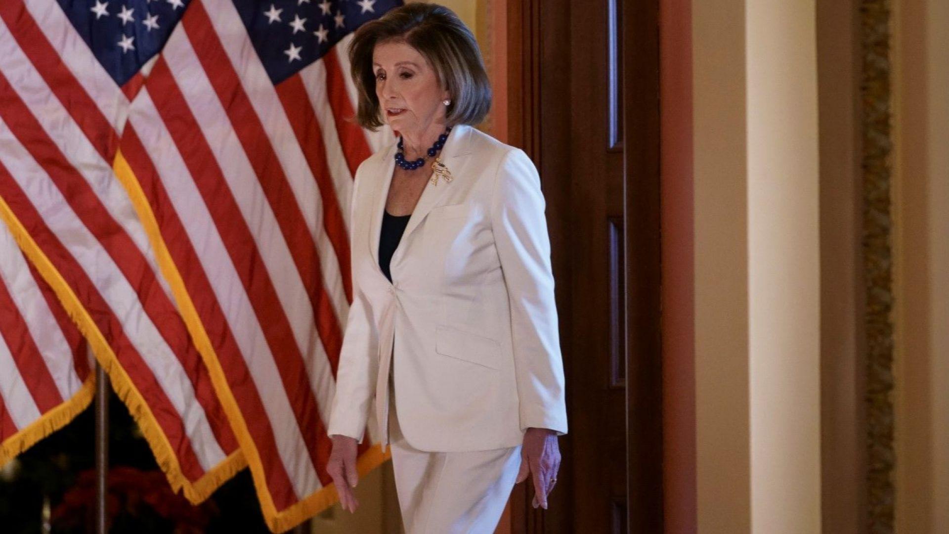 Лидерът на демократите в Камарата на представителите на американския конгрес