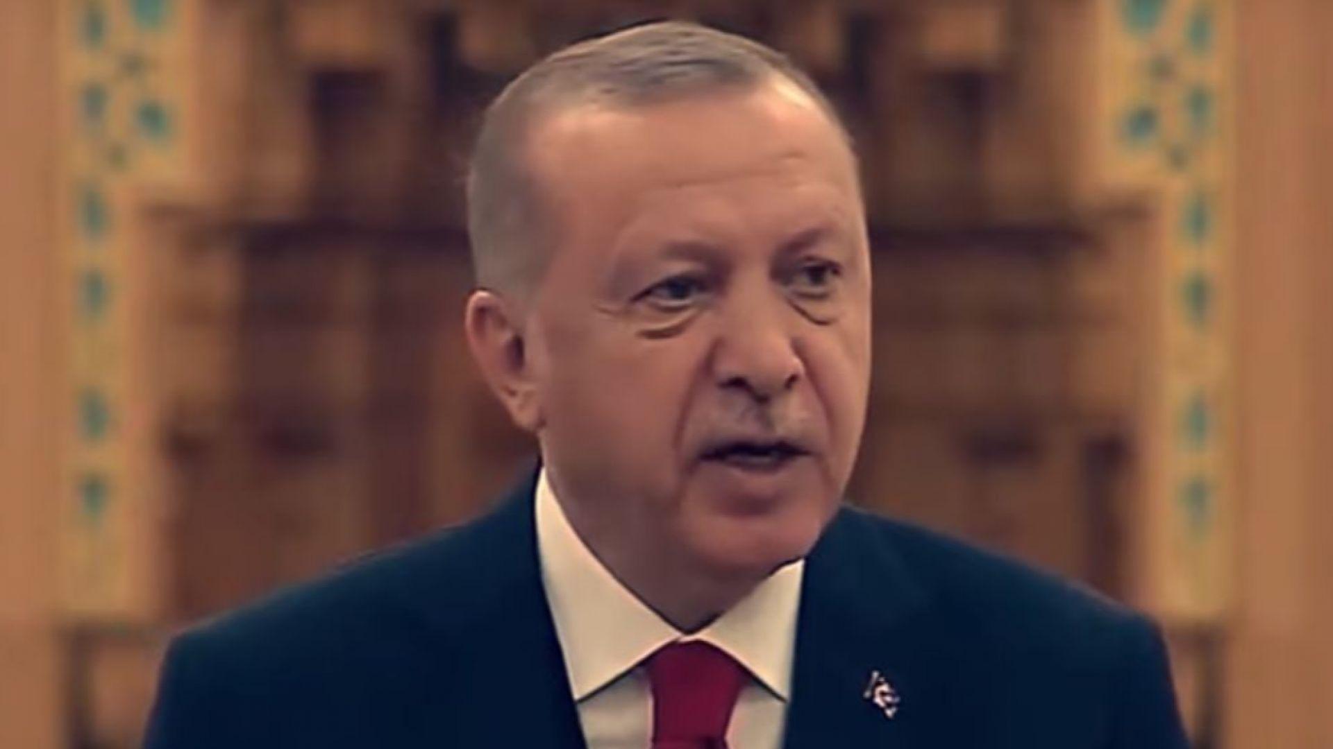 Турският президент Реджеп Тайип Ердоган днес откри екологична джамия в