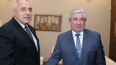 Борисов се срещна с руския посланик Анатолий Макаров