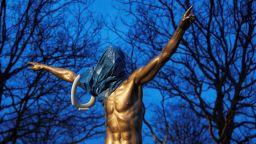 """Бунт срещу Златан в родния му град, поискаха свалянето на статуята на """"Юда"""""""
