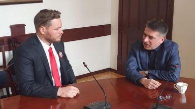 Министър Кирилов прие Джок Полфрийман, говориха за проблемите в затворите