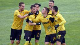 """""""Жълтият"""" възход продължава с успех в дербито на Тракия"""