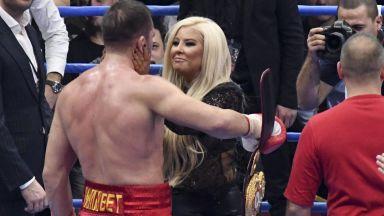 Гневен Кубрат Пулев защити Андреа във фолк войната с Митко Пайнера
