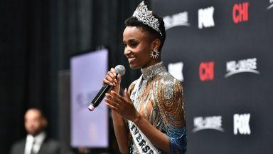 """Момиче от Южна Африка е """"Мис Вселена"""" 2019"""