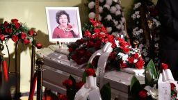 Последно сбогом с госпожа Стихийно бедствие (снимки)
