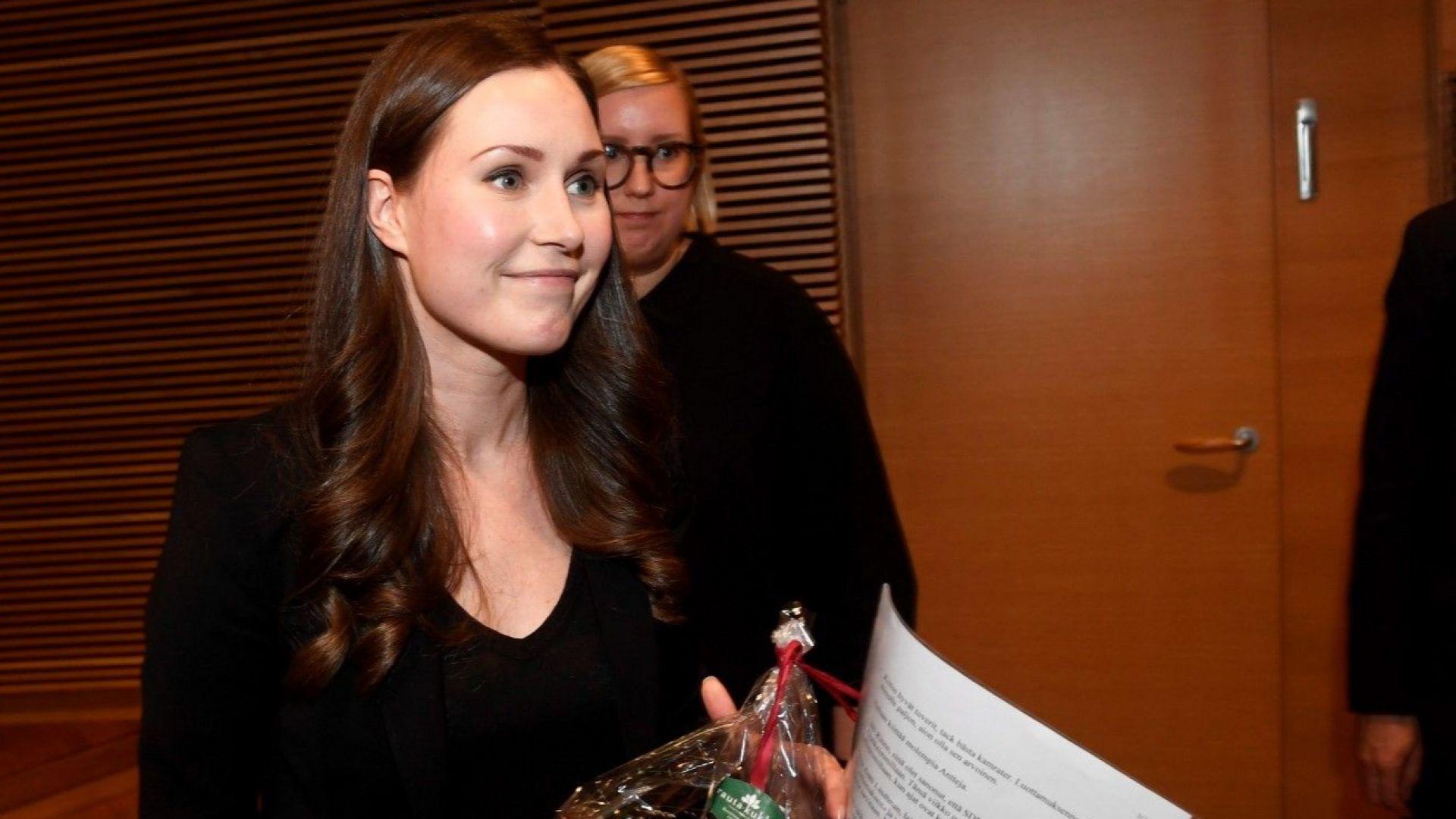 Красива финландка стана най-младият премиер в света