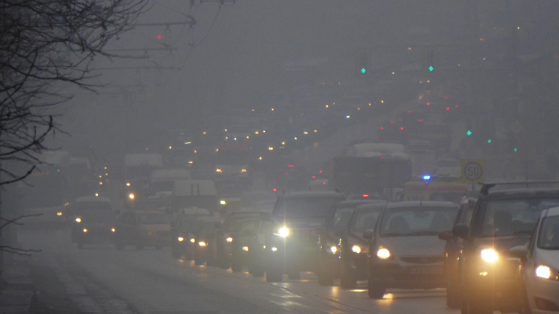 И тази сутрин въздухът в София е мръсен
