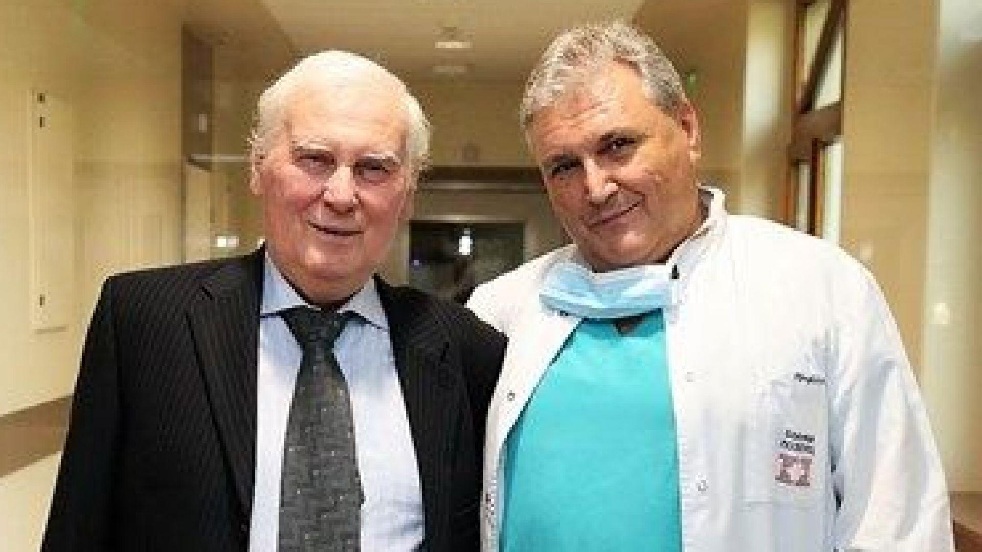 Пациентът с първата белодробна трансплантация, извършена в България, бе изписан
