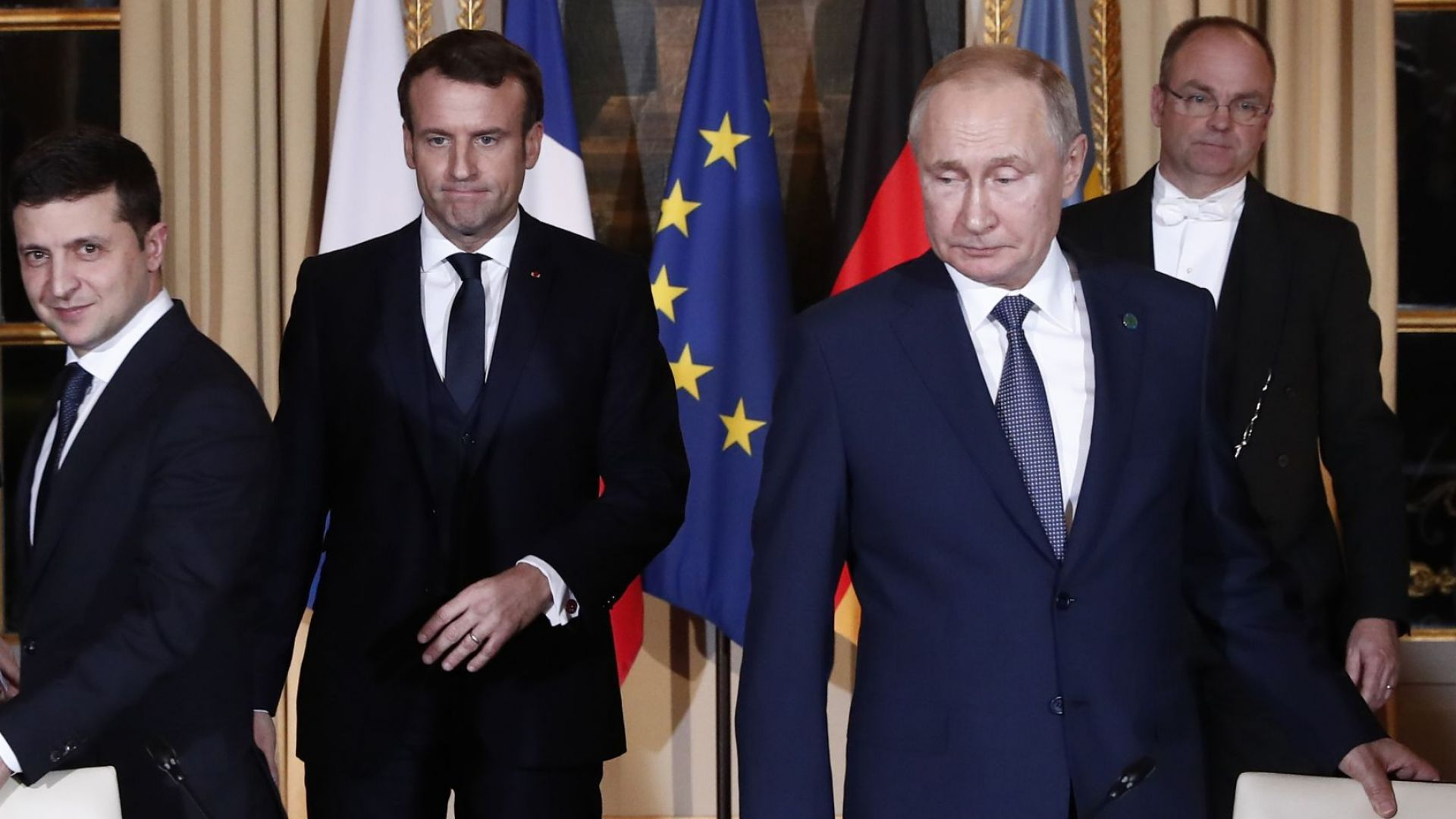Руският президент Владимир Путин се видя за първи път с