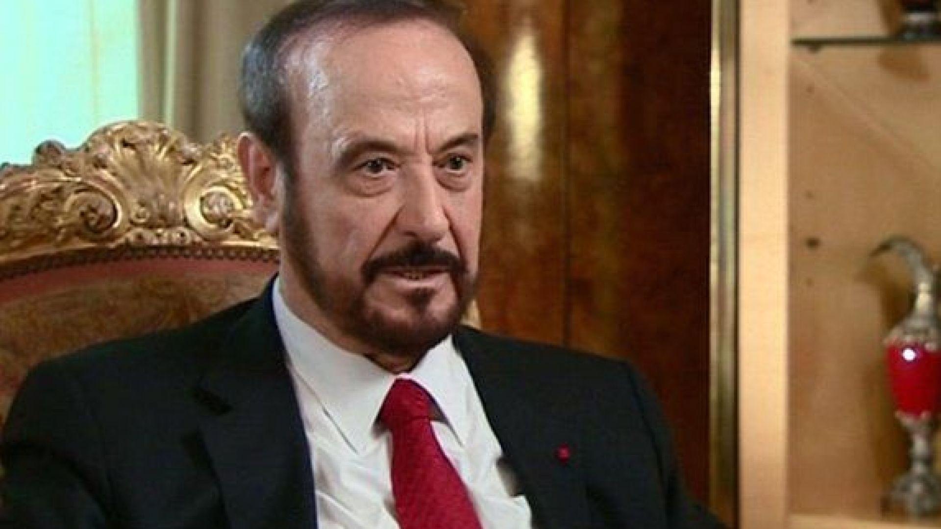 Рифат Асад, чичо на сирийския президент Башар Асад, ще бъде