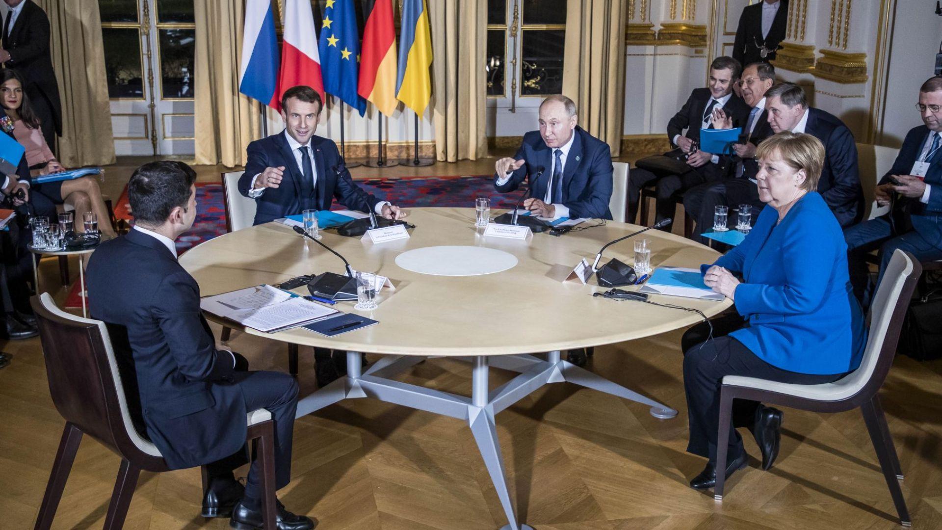 Путин и Зеленски са доволни от постигнатото в Париж