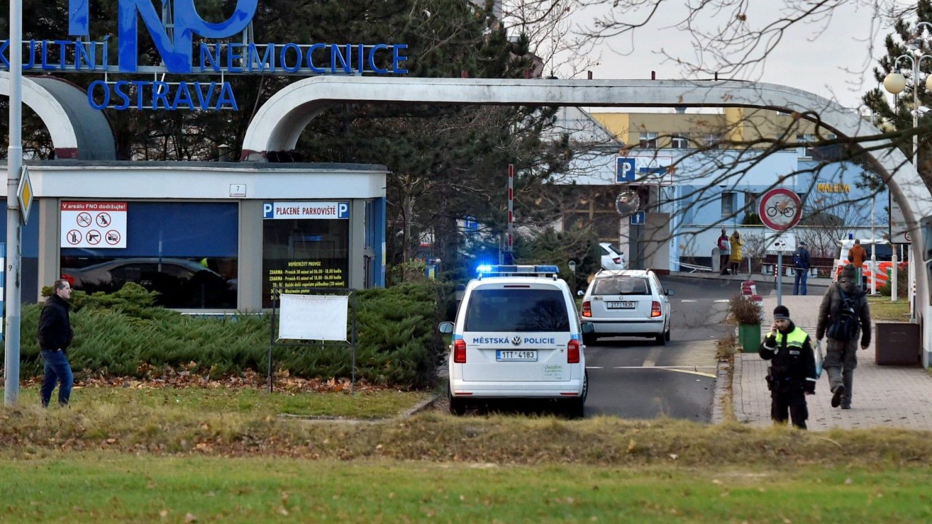 Шест убити, двама ранени при стрелба в чешка болница, съобщи