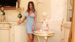 Светлана Гущерова отпразнува имения ден на дъщеря си