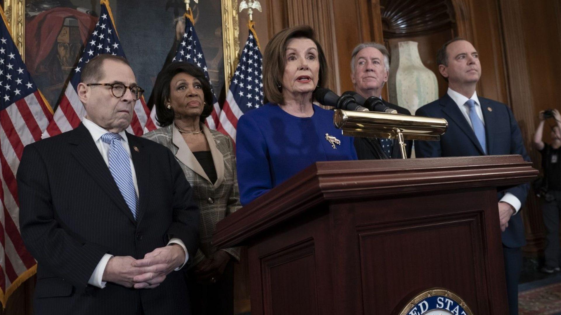 Демократите в Камарата на представителите на САЩ обявиха обвиненията срещу