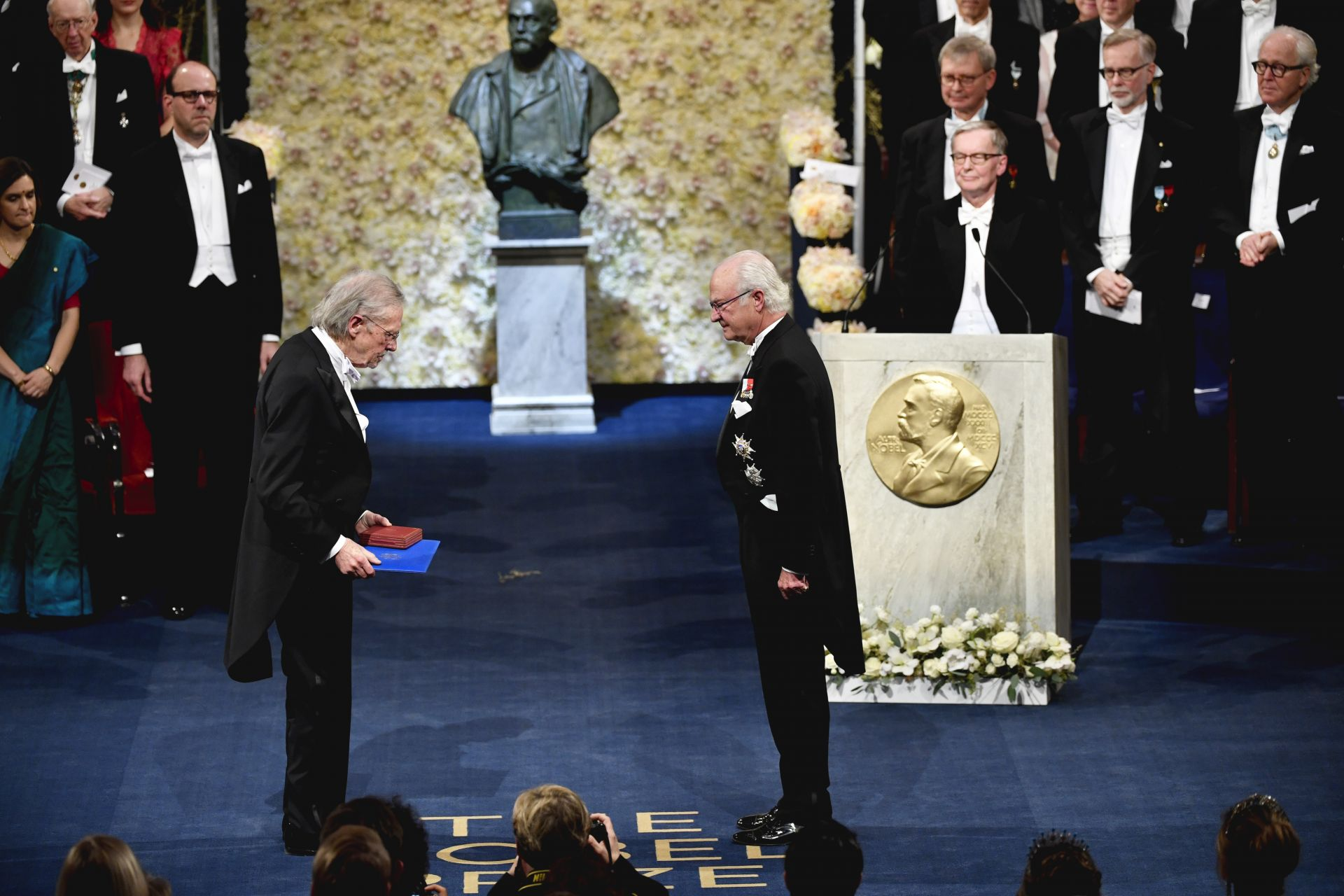 Австрийският писател Петер Хандке получи Нобелова награда за литература за 2019 г.