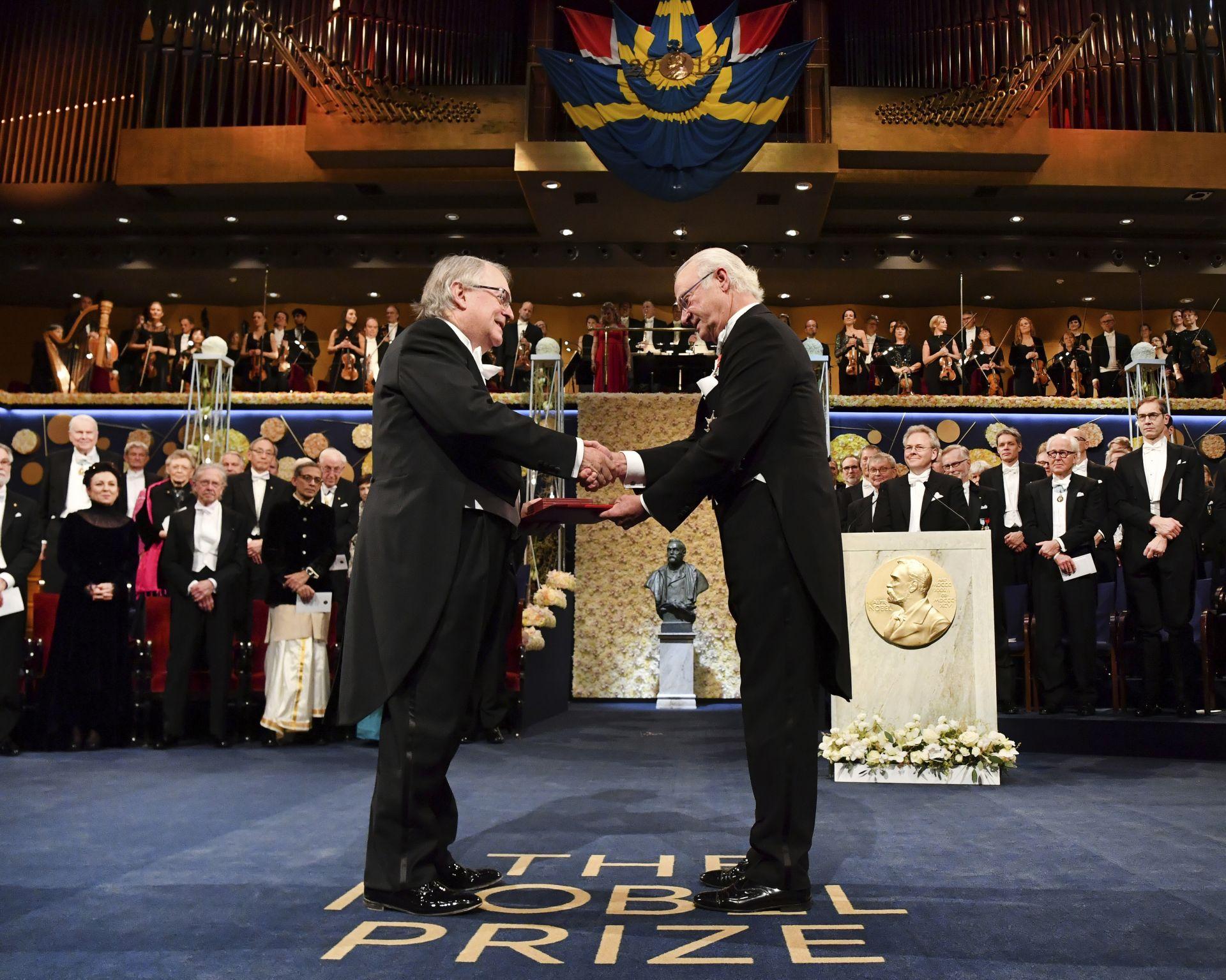 Лауреатът по химия Стенли Уитингам
