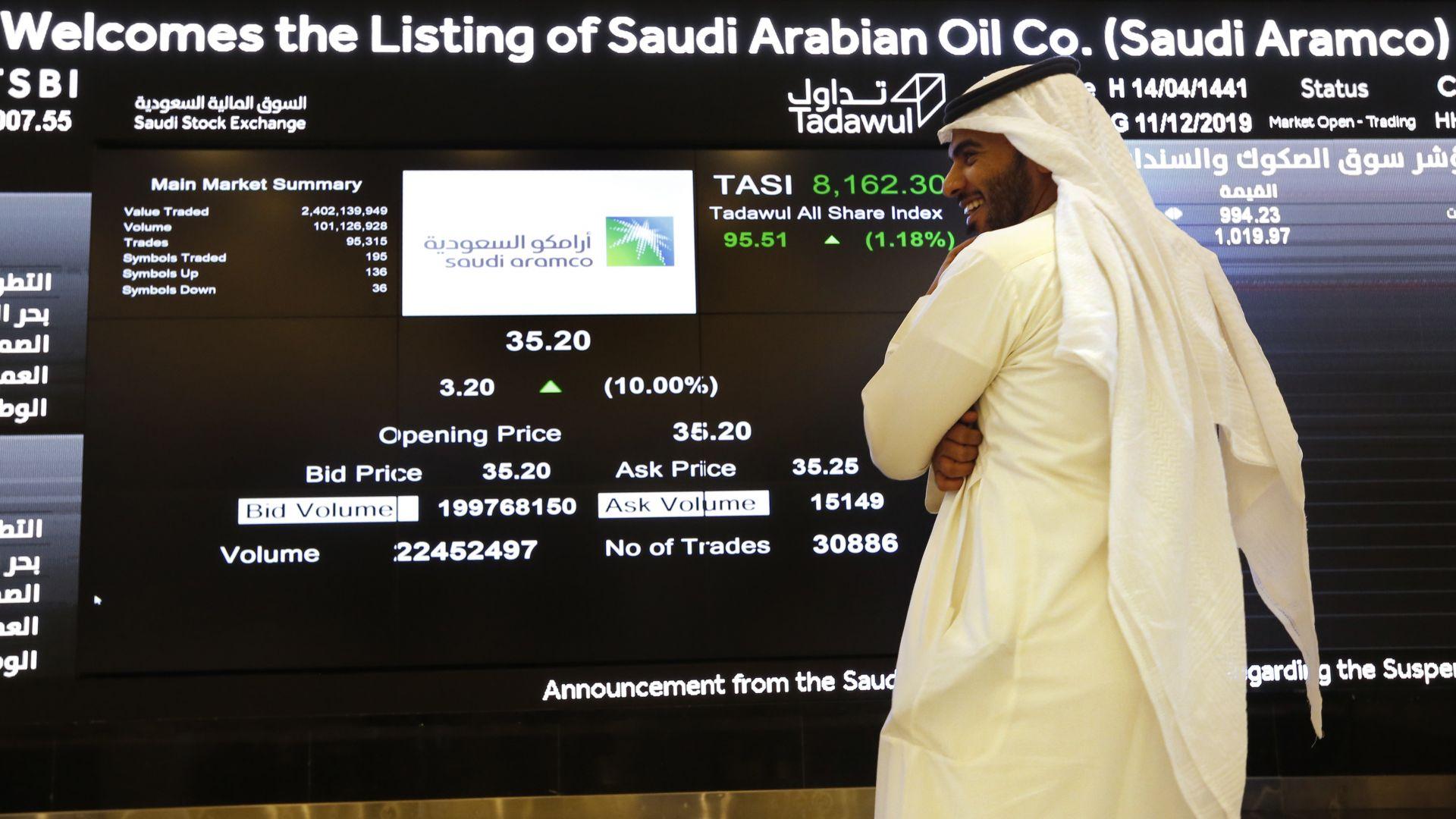 Капитализацията на Сауди Арамко спадна до минимум заради коронавируса