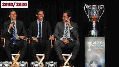 Десетилетието в спорта: Тримата императори на тениса