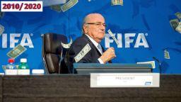 Десетилетието в спорта: Скандалът за стотици милиони, разтърсил футбола