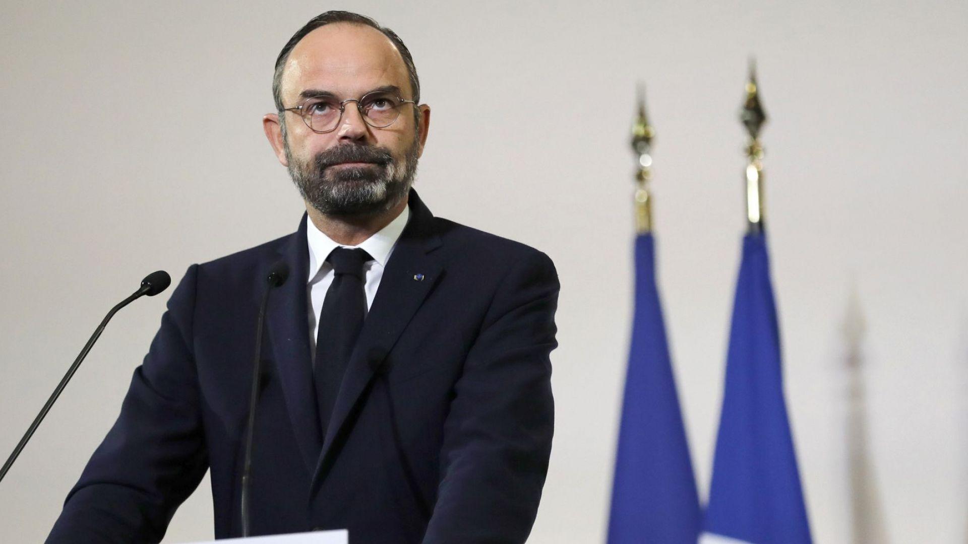 Министър-председателят на Франция Едуар Филип направи отстъпки пред синдикатите по