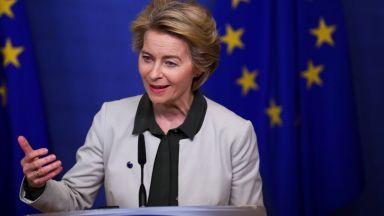 """Фон дер Лайен иска """"План Маршал"""" на ЕС в борбата с пандемията"""