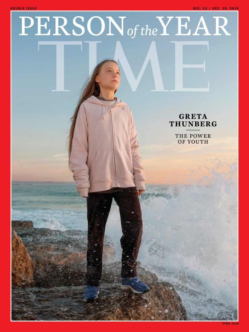 """Грета Тунберг е на корицата на списание """"Тайм"""""""