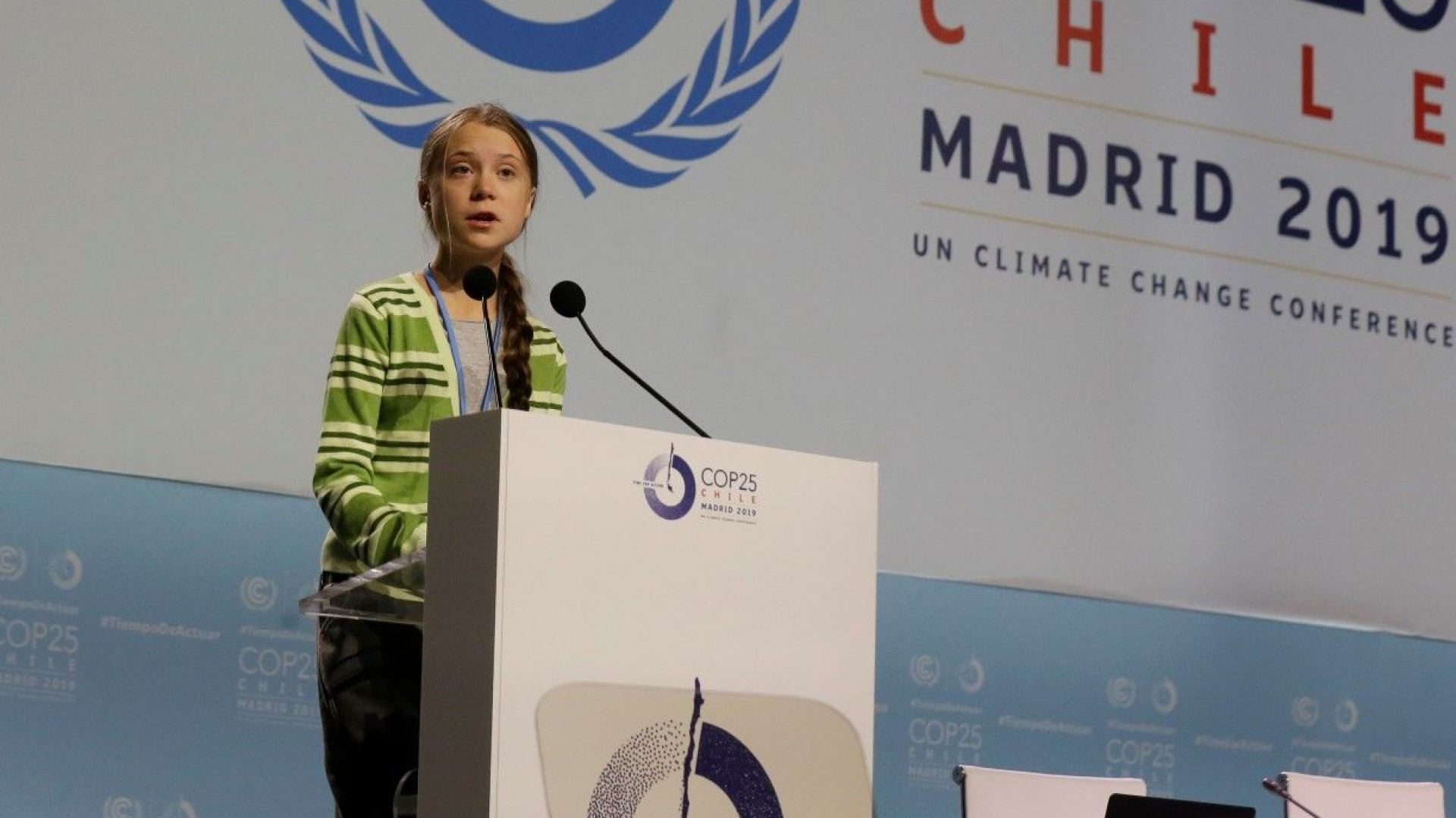 Младата шведска екоактивистка Грета Тунберг бе обявена за