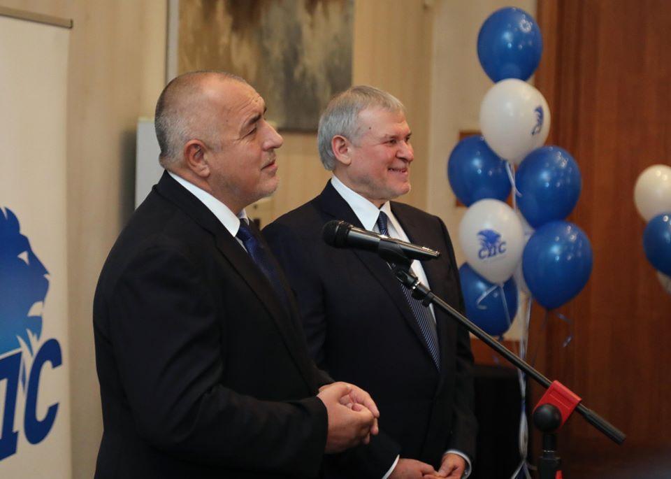 Бойко Борисов поздрави лидера на СДС Румен Христов