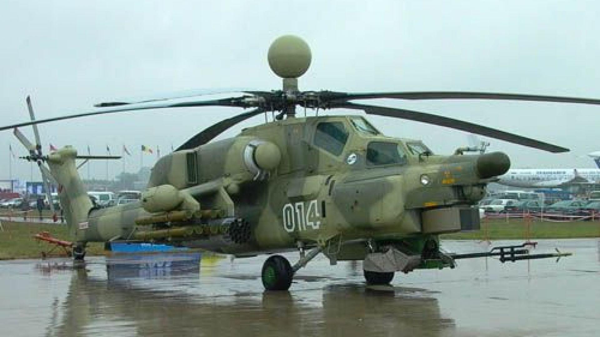 Боен хеликоптер се разби в Южна Русия, двамата пилоти загинаха