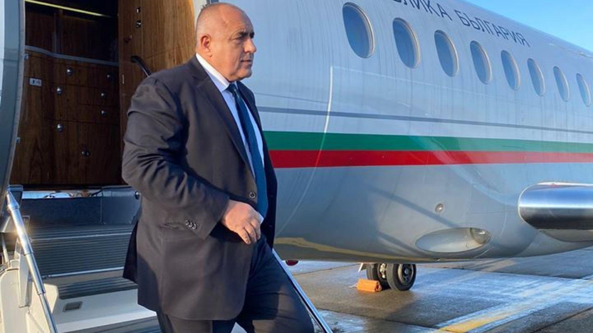 Министър-председателят Бойко Борисов пристигна в Брюксел за срещата на върха