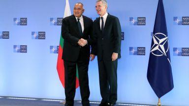 Борисов се срещна с шефа на НАТО: Въоръжаваме се, за да сме силни и да възпираме (видео)