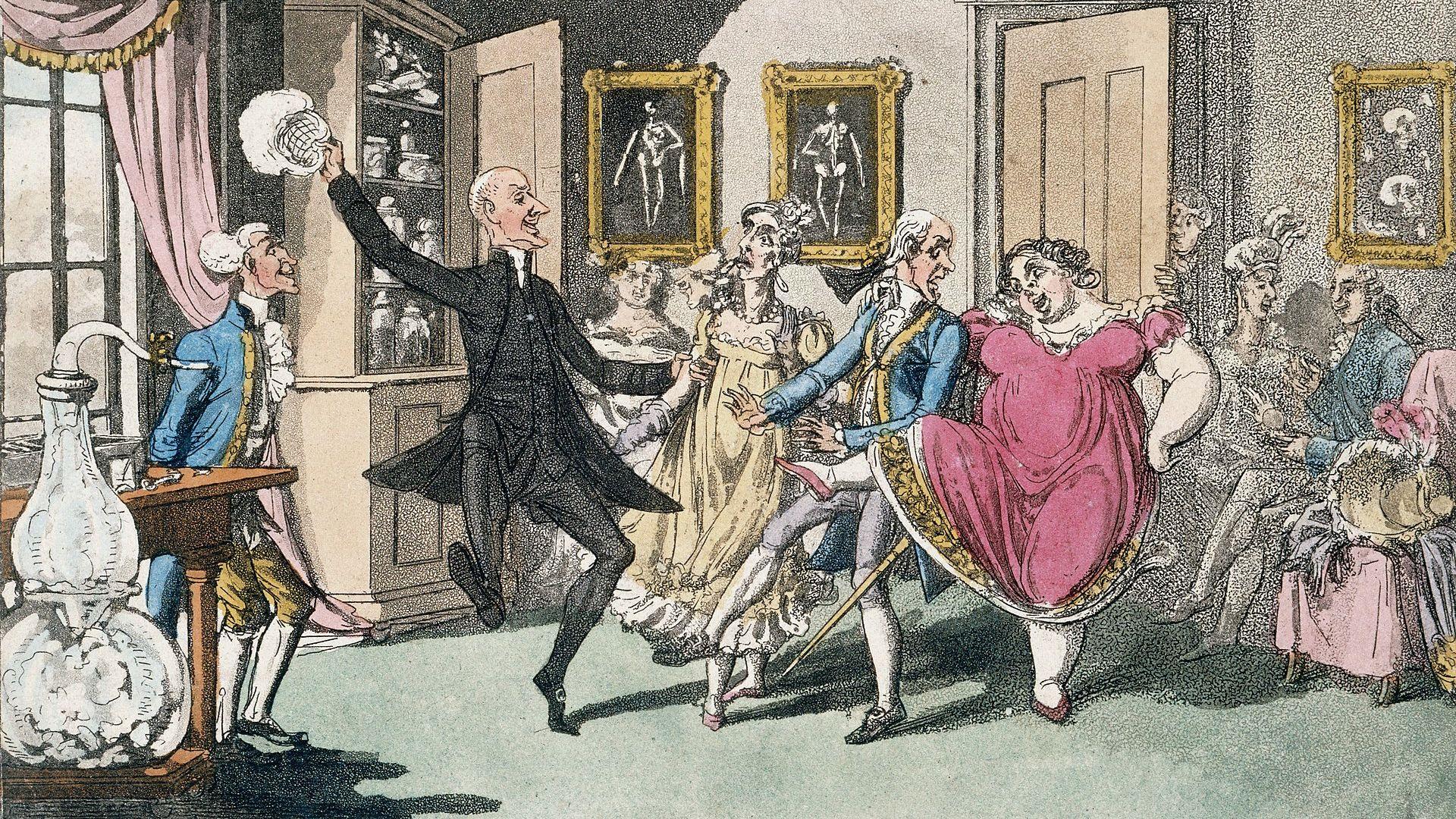 Английската аристокрация често използвала райски газ при своите празнества