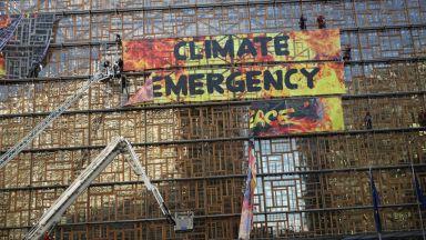 """Евакуираха сградата на Европейския съвет в Брюксел заради акция на """"Грийнпийс"""""""