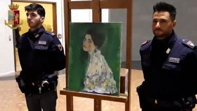 Откриха ли откраднато произведение на Густав Климт?