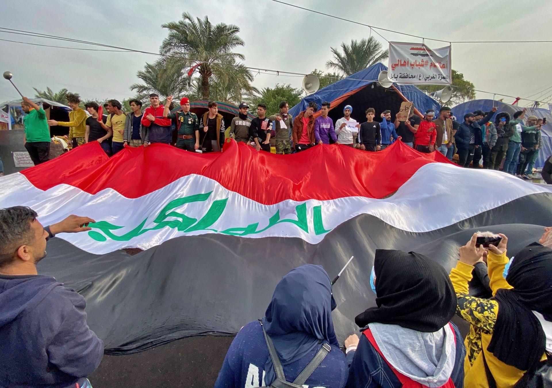 Протестите в Багдад