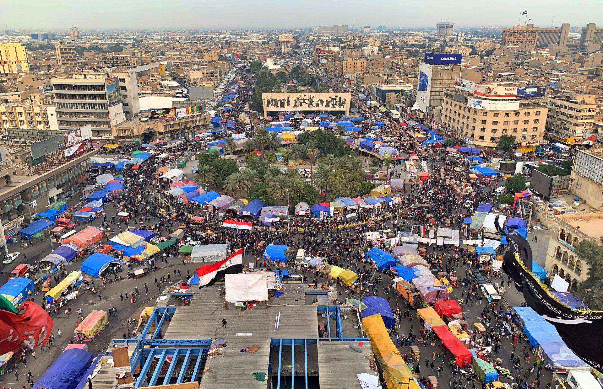 Протестите в Багдад не стихват