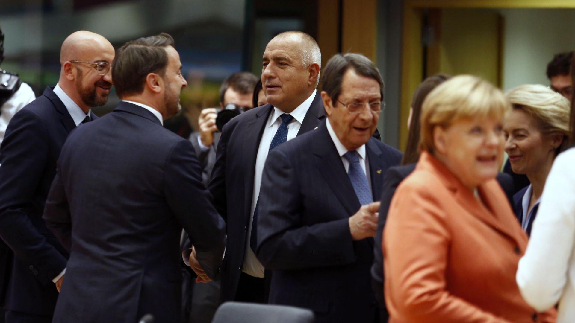 Започна заседанието на Европейския съвет в Брюксел, в което участва