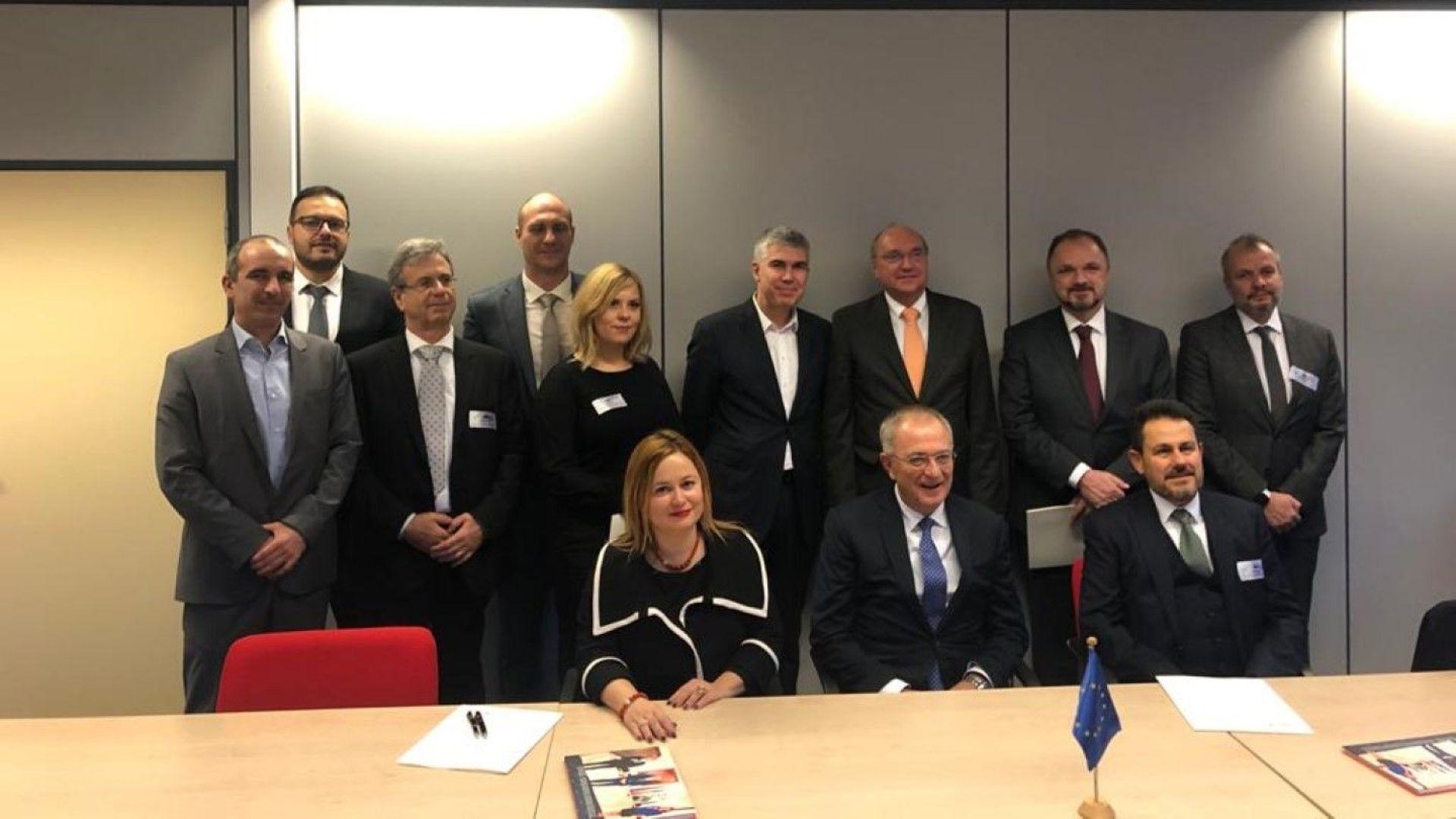 Компании от България, Гърция, Румъния и Унгария подписаха нов меморандум за Вертикалния газов коридор