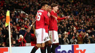 Юнайтед изригна и в Европа - 4 гола за 11 минути (резултати)