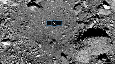 Учени определиха от кой участък на астероида Бену ще бъде взета проба