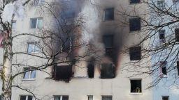Най-малко 25 души са ранени при експлозия в жилищен блок в Германия